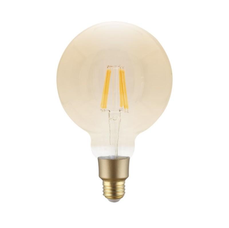 Smart LED bulb Filament 6W G95 - Warm White (2700K)