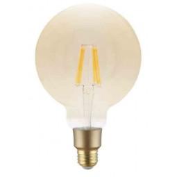 Ampoule Filament Wifi 6W G125 Culot E27 Ambrée
