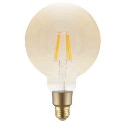 Wifi Filament Bulb 6W G125 Amber E27 Base