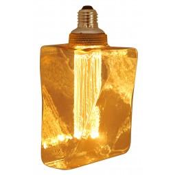 Ampoule Nouvelle Génération Diamond Ambrée LED Wifi - 4W 130 Lumen - Culot E27