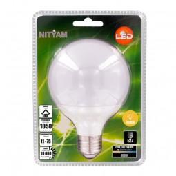 Ampoule LED G95 11W E27 3000K