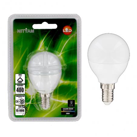LED spherical 5W E14