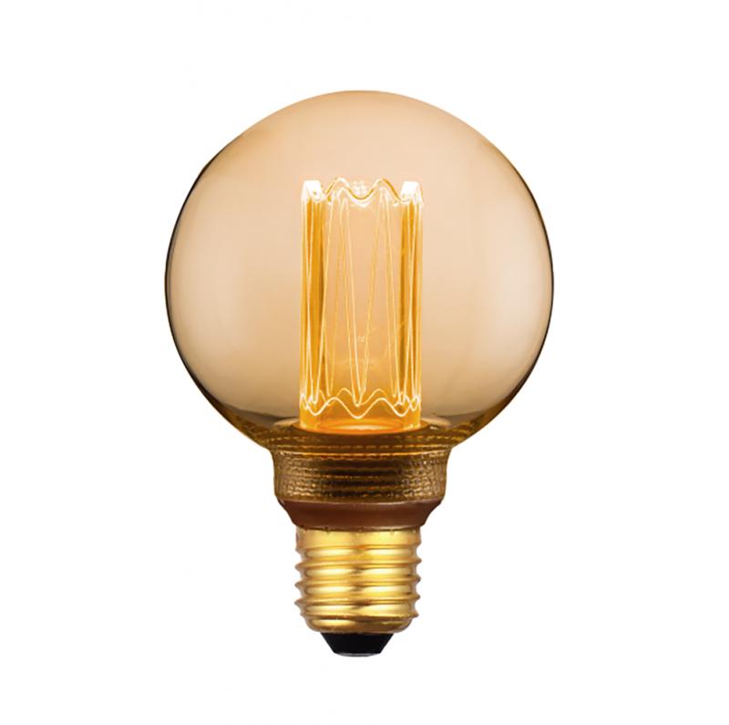 LED decorative G80 bulb - 4W 200 Lumen