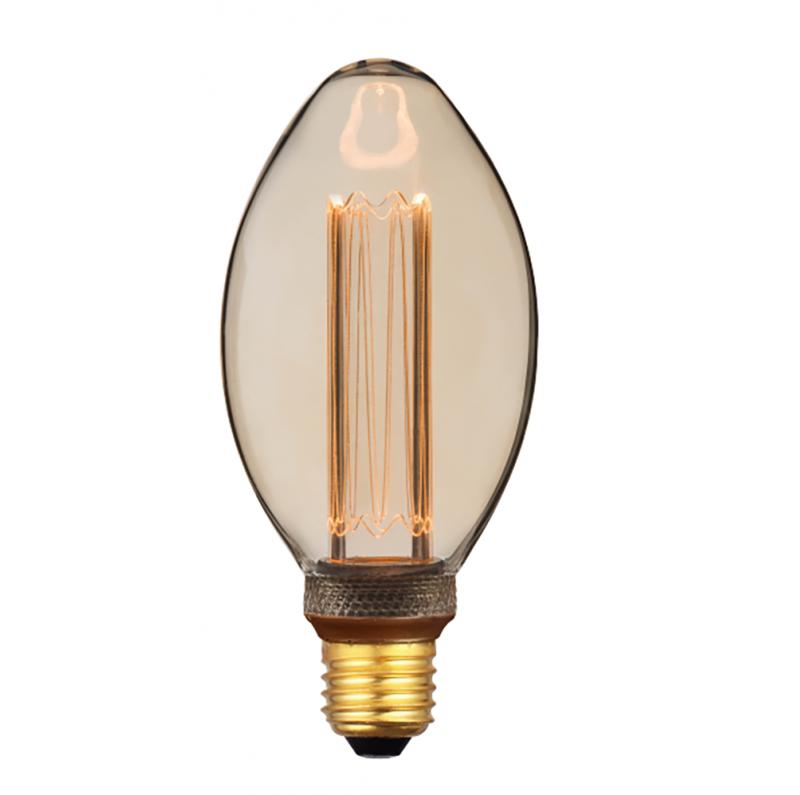LED decorative B75 bulb - 4W 200 Lumen