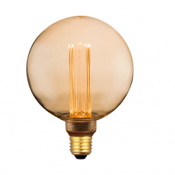 Ampoule LED G125 Déco nouvelle génération - 4W 200 Lumen...