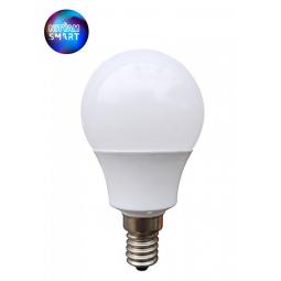 Ampoule Wifi 4.5W Culot E14/E27 - Compatible Amazon Alexa & Google Home