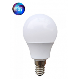Ampoule Wifi 4.5W Culot E14 couleur blanche - Compatible Amazon Alexa & Google Home
