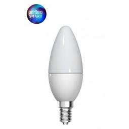 Bulb Wifi Flame 5W E14 multicolors + warm white...
