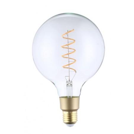 Ampoule Filament Wifi 4W G125 Culot E27 Claire avec spirale