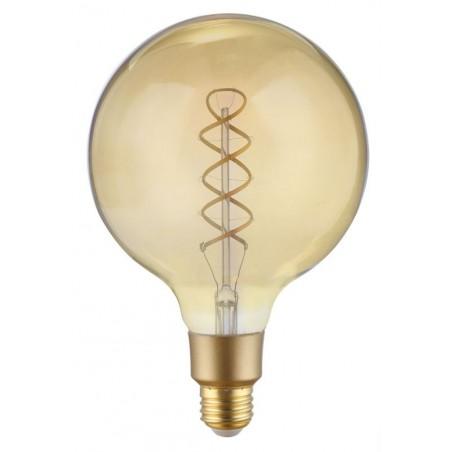 Ampoule Filament Wifi 4W G125 Culot E27 Ambrée avec spirale