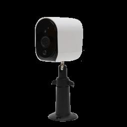 Caméra haute résolution avec socle amovible étanche IP65 - Compatible Amazon Alexa & Google Home