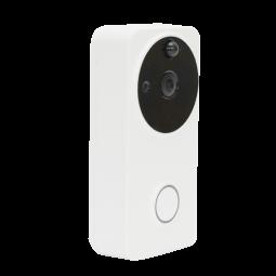 Sonnette de porte avec camera intégrée WIFI IP55 - Compatible Amazon Alexa & Google Home