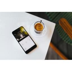 Sonnette de porte avec camera intégrée - Compatible Amazon Alexa & Google Home