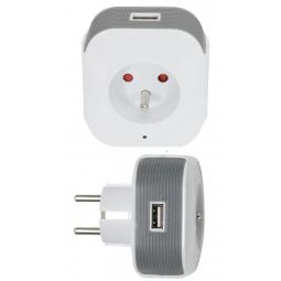Prise et port USB WIFI connectés