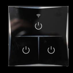 Interrupteur tactile Wifi intelligent 3 boutons - Compatible Amazon Alexa & Google Home