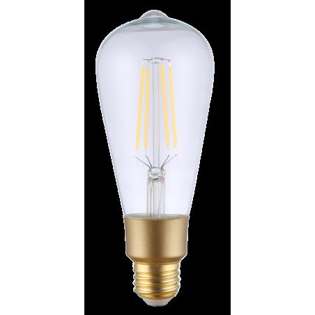 Ampoule Filament Wifi 6W ST64 Culot E27 Claire
